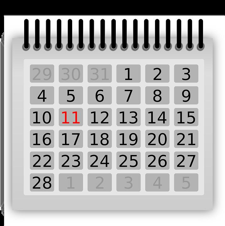 Preparación de Calendarios Laborales 2020