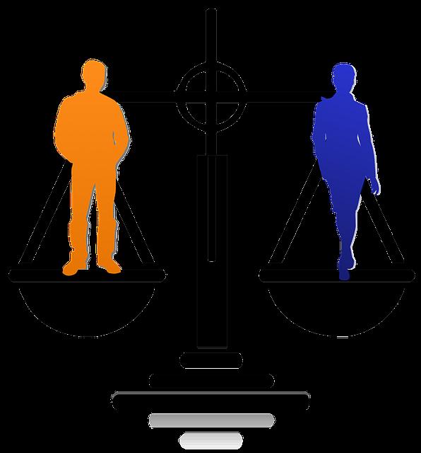 balanza de la justicia - planes de igualdad